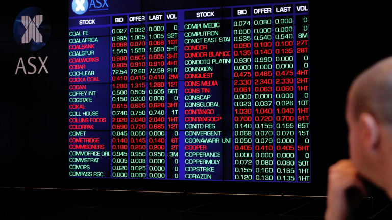 The Australian sharemarket has risen this week with reporting companies responsible for most of the market movement.