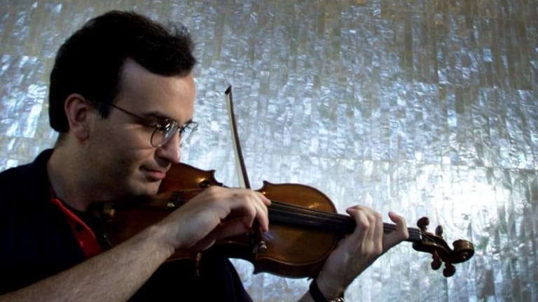 """Gil Shaham played with """"majestic mastery"""", revealing a  """"benign musical generosity""""."""