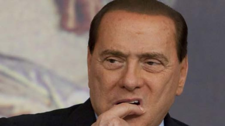 Facing trial ... Italian Premier Silvio Berlusconi.