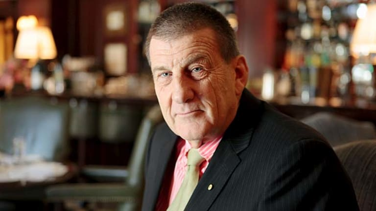 """Wine incident gets a """"one"""" rating: Former Victorian Premier Jeff Kennett."""