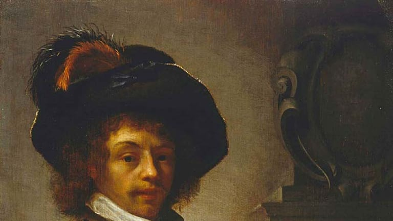 <em>A Cavalier</em> a 17th-century Dutch masterpiece stolen from the Art Gallery of NSW and still unrecovered.