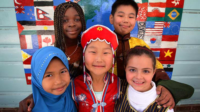 Smiles all round: There is strength in diversity.