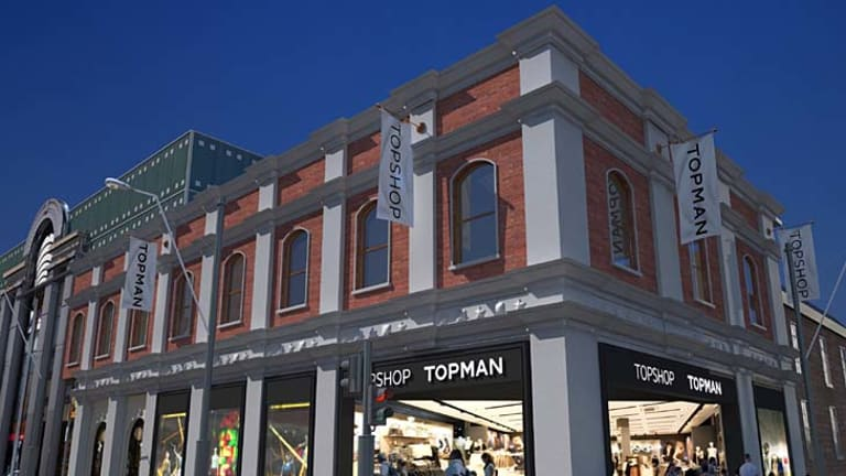 Computer-generated image of what the new Topshop/Topman store at the Jam Factory will look like.