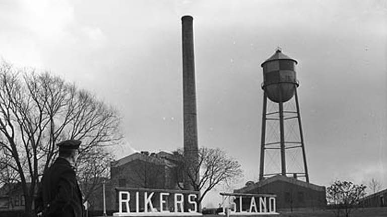 Flashback ... welcome to Rikers, circa 1955.