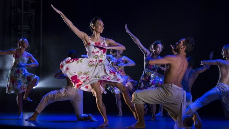 Deborah Brown, left, and Waangenga Blanco choreographed <i>I.B.I.S</i>.