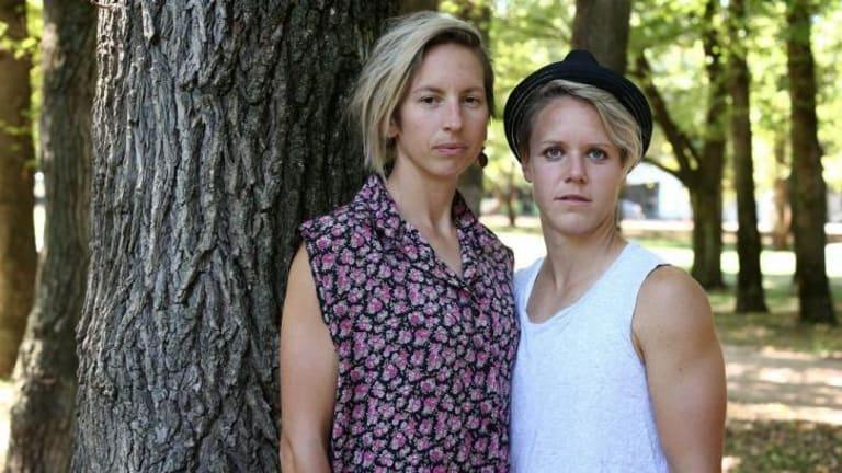 Sally Shipard and her partner Lori Lindsey.