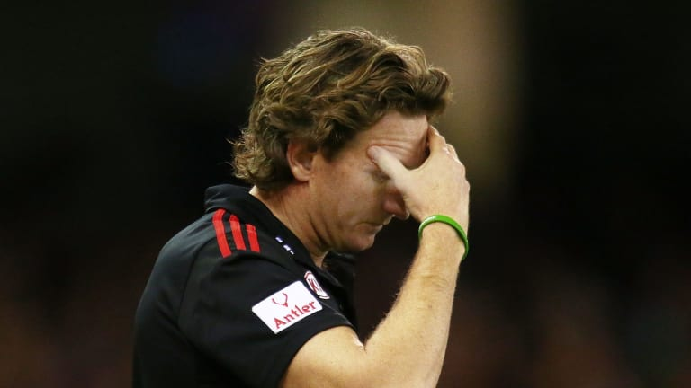 Gone from Essendon: James Hird.