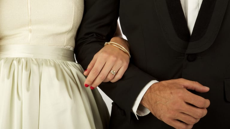Mohammad Shakir married his 14-year-old bride at a mosque in Noble Park.