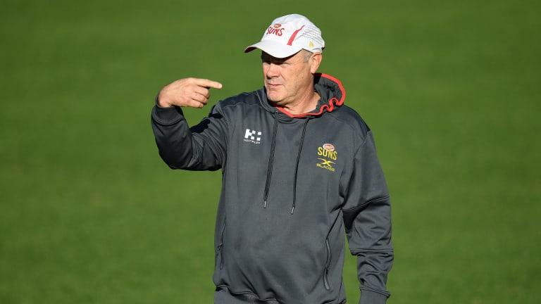 Rodney Eade was sacked as Gold Coast coach.