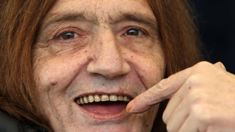 Former lead singer of the Easybeats Stevie Wright.