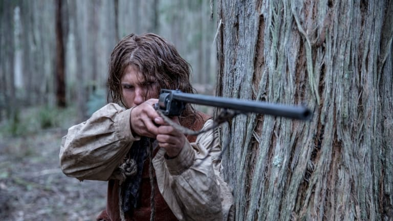 A shot from <i>The Legend of Ben Hall</i>.