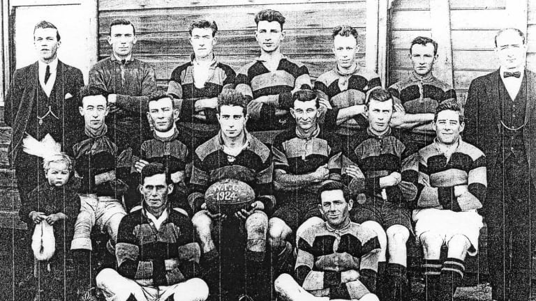 A mystery local football team of 1924.