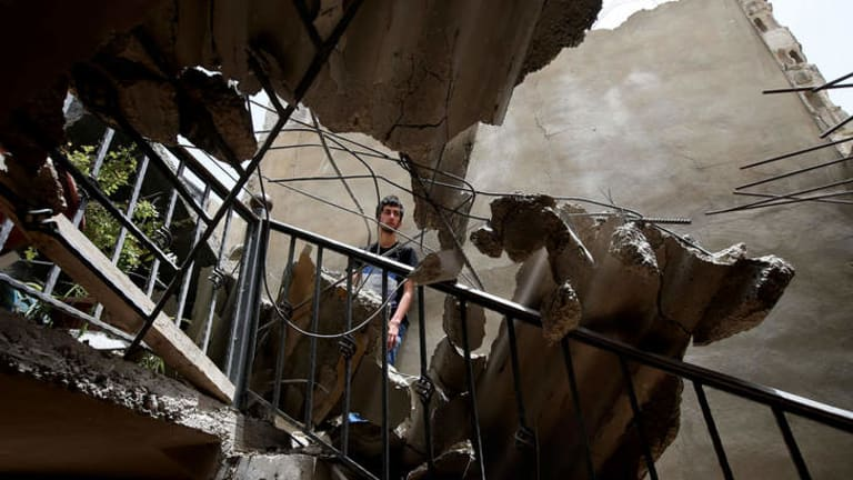 Shells fire from Syria regularly strike the Lebanese northeastern town of Hermel, a predominantly Shiite town.