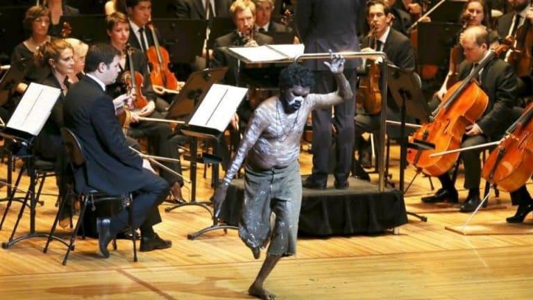 Jandamarra: A dancer with the Sydney Symphony.