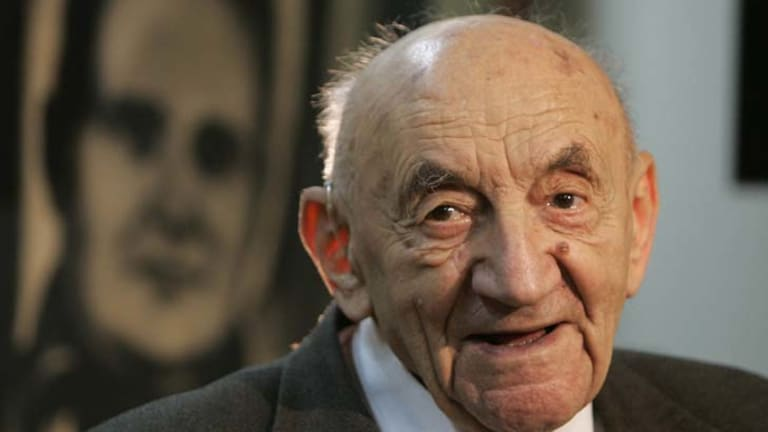 Patriotic … Boris Chertok helped launch the first man into space.
