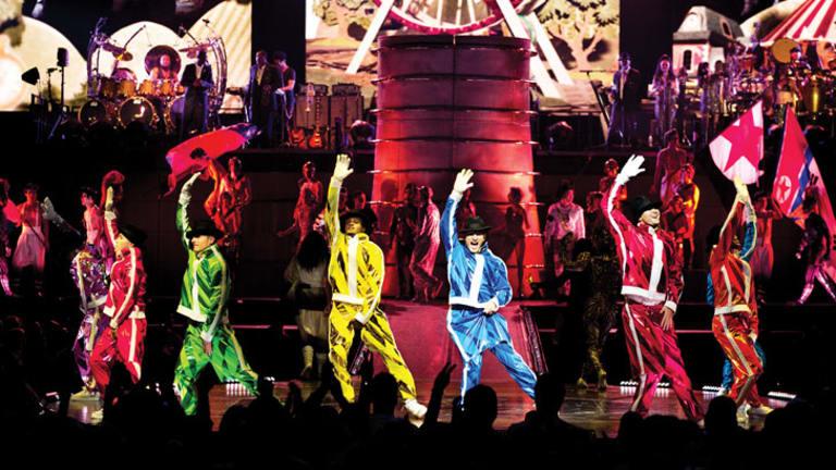 Cirque du Soleil's Australian tour of Michael Jackson The Immortal World Tour kicked off at Perth Arena.