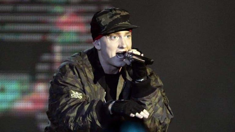 Verbal energy ... Eminem.