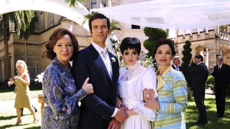 Peter Allen's wedding to Liza Minnelli as portrayed in <i>Not the Boy Next Door</i>.