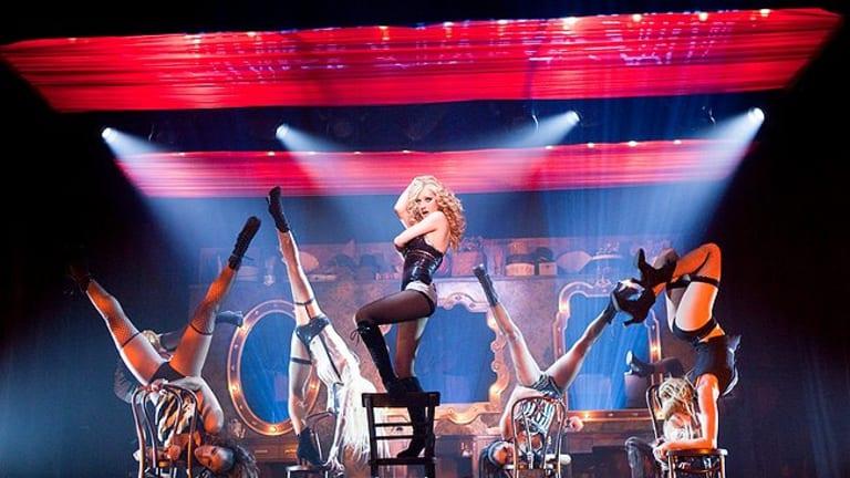 Tease ... Christina Aguilera plays an aspiring dancer.