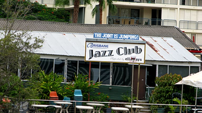 The Brisbane Jazz Club ... forced to stop 'jumping' after 10pm.