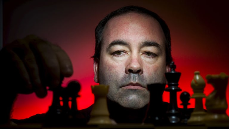 Watchful eye: Shaun Press has been enlisted to help stamp out chess cheats.