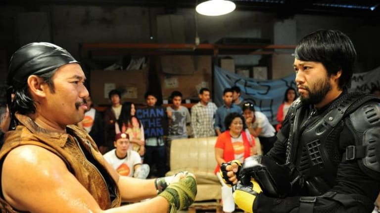 Lawrence Leung's <i>Maximum Choppage</i> is a an extremely silly and enjoyable spoof.