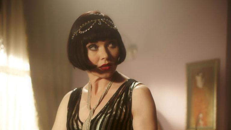 Essie Davis in <i>Miss Fisher's Murder Mysteries</i>.