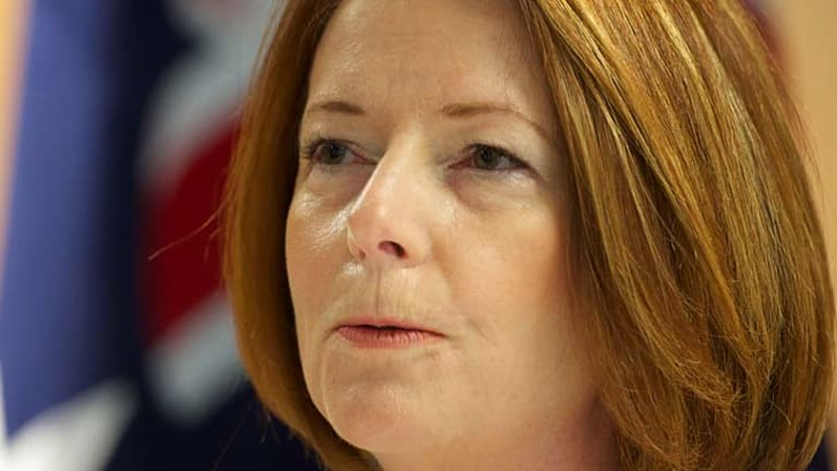 """Julia Gillard ... """"She has no intention of restricting freedom of religion."""""""