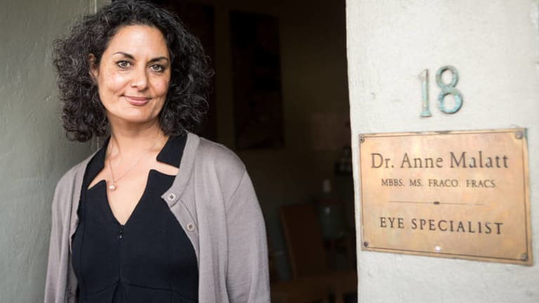 A vision shared … eye surgeon Dr Anne Malatt is a supporter of Serge Benhayon's methods.