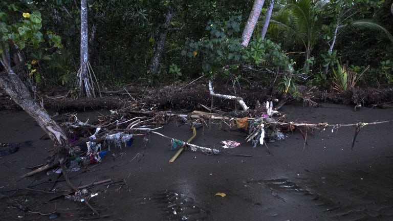 In 2014, rising sea levels, floods and storms forced the residents of Fijian village Vunidogoloa to relocate.