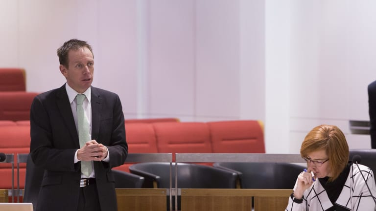 The Greens' Shane Rattenbury, who will move on Thursday to ban vilification on the grounds of religion.