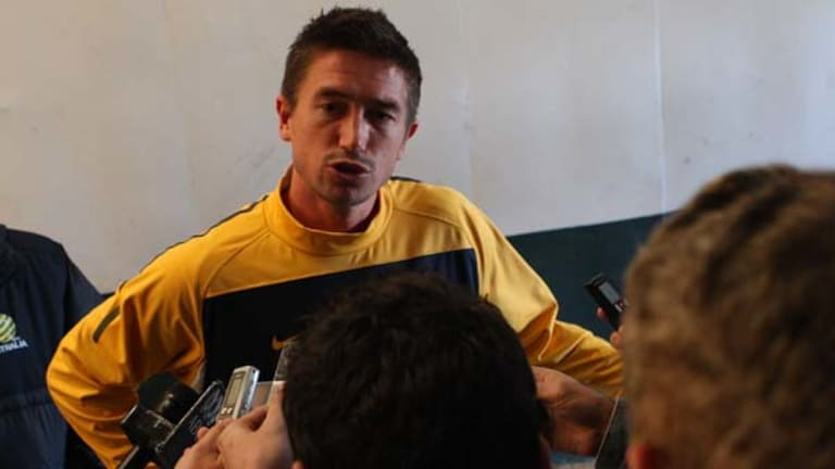 Combative ... Harry Kewell has lashed out at media criticism of  himself.