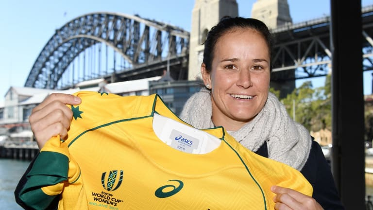 """""""Since I started playing rugby in Brisbane the game has come along in leaps and bounds"""": Shannon Parry."""
