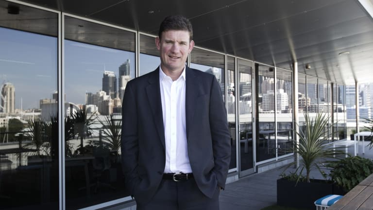 OnDeck Australia chief executive Cameron Poolman says OnDeck is growing at a 100 per cent a year in the US.