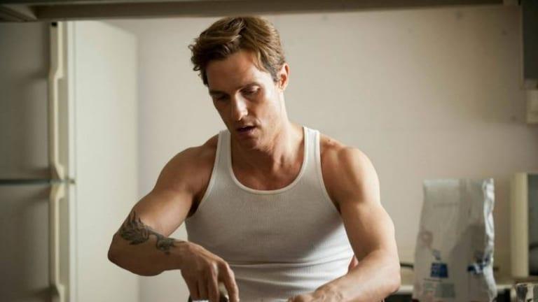 Visually arresting: Matthew McConaughey in <i>True Detective</i>.