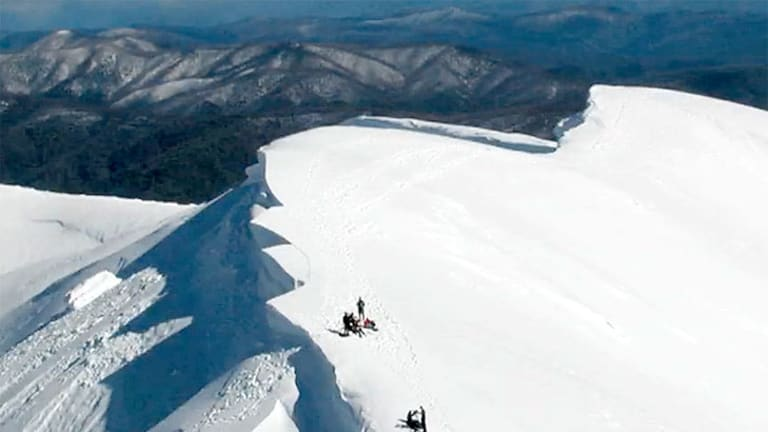Feathertop's  Avalanche Gully is one of the country's toughest off-piste attractions for extreme and cross-country skiers. File photo.