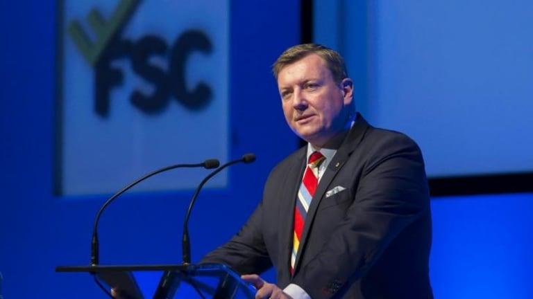Financial Services Council chief John Brogden.