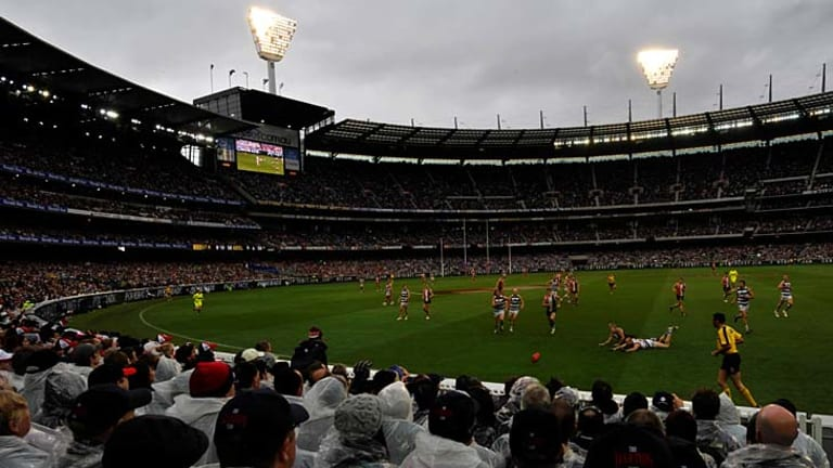 The 2009 grand final featured conditions which may be seen on Saturday.