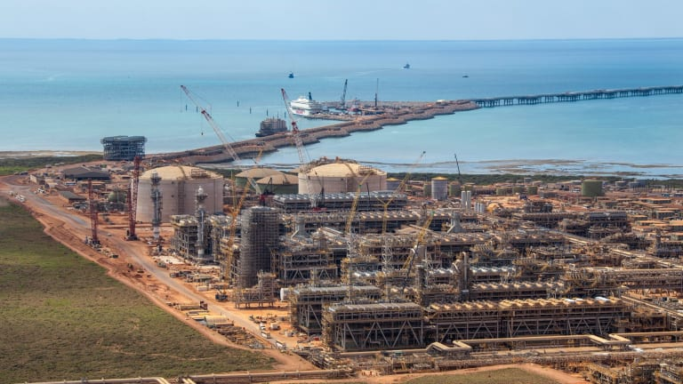 The ATO has another audit underway relating to a $35 billion loan for the Gorgon gas project.