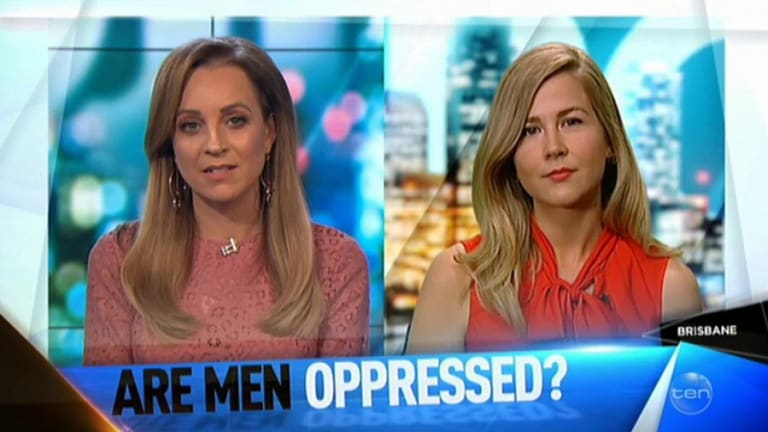 's Carrie Bickmore caught Jaye off-guard.
