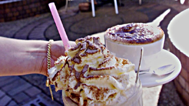 Flab-accino ... fat-laden iced coffee drinks can undo a diet.