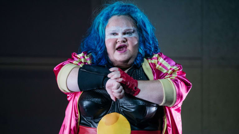 Megan Wilding in Blackie Blackie Brown by the Sydney Theatre Company.