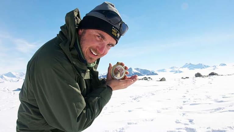 With the floe: The team, including UNSW scientist Chris Turney will use cutting-edge technology to chart changes in the Antarctic climate using Sir Douglas Mawson's data.