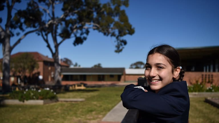 "Layelle Etri, in a Year 6 opportunity class at Blaxcell Street Public School, said she ""wasn't really learning much"" in her mainstream classes."