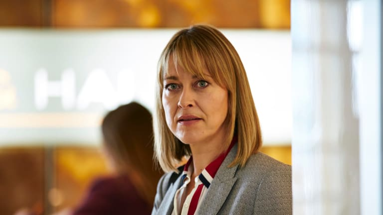 Nicola Walker stars as Hannah Defoe, a lawyer with a complicated life, in <I>The Split</I>.
