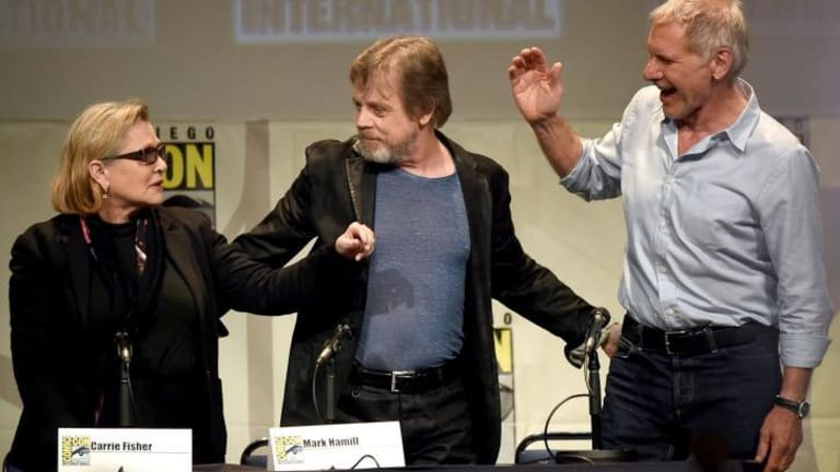 Star Wars: The Force Awakens panel sends fans into meltdown at Comic-Con