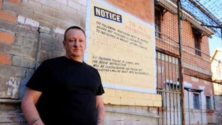 Chef Ian Curley, who has taken six criminals under his wing in Conviction Kitchen (restaurant manager Lisa Parker has another six).
