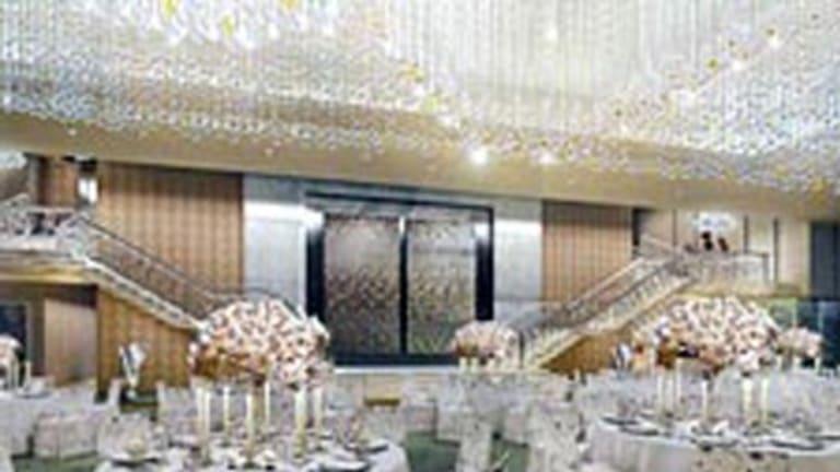 The home's ballroom.