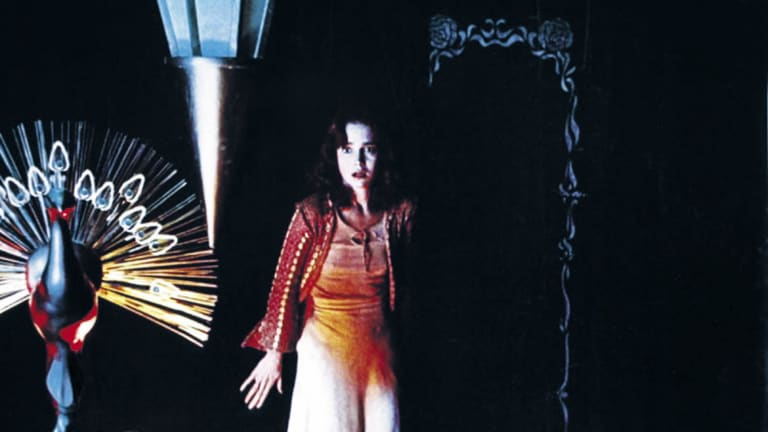A scene from 1977 murder mystery Suspiria.