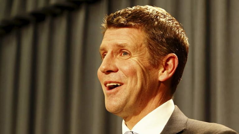 """Mike Baird: Aiming to """"transform NSW"""" as the newly elected NSW Premier."""